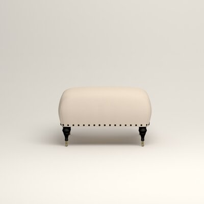Shephard Ottoman Upholstery: Microsuede Oyster