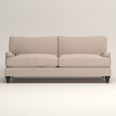 Montgomery Upholstered Sofa Upholstery: Lizzy Linen