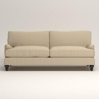 Montgomery Upholstered Sofa Upholstery: Hilo Flax