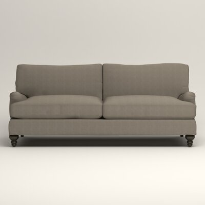 Montgomery Upholstered Sofa Upholstery: Hilo Seagull