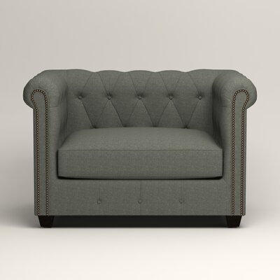 Hawthorn Chesterfield Chair Upholstery: Lizzy Surf