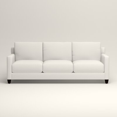 Kerry Sofa Upholstery: Classic Bleach White