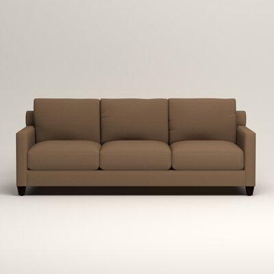 Kerry Sofa Upholstery: Microsuede Cappucino