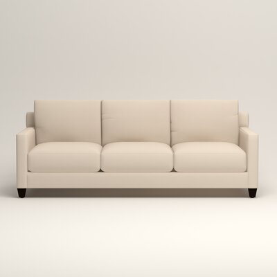 Kerry Sofa Upholstery: Microsuede Oyster
