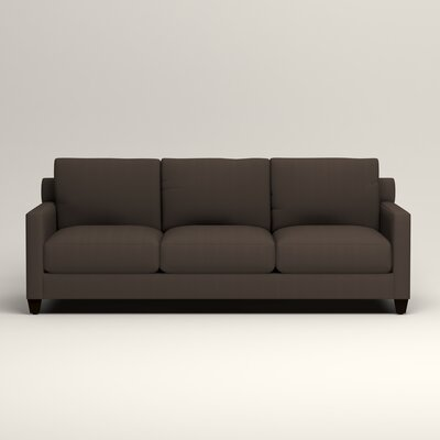 Kerry Sofa Upholstery: Microsuede Charcoal
