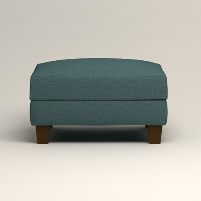 Kerry Ottoman Upholstery: Lizzy Prussian