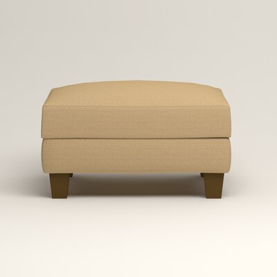 Kerry Ottoman Upholstery: Trillion Saffron