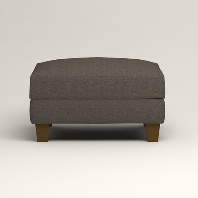 Kerry Ottoman Upholstery: Lizzy Graphite