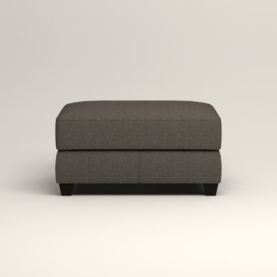 Hawthorn Ottoman Upholstery: Lizzy Graphite