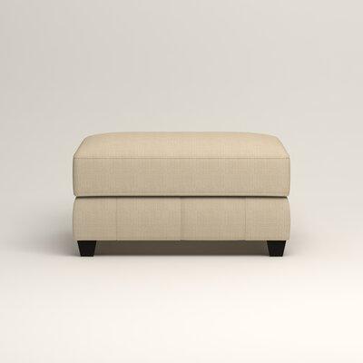 Hawthorn Ottoman Upholstery: Hilo Flax