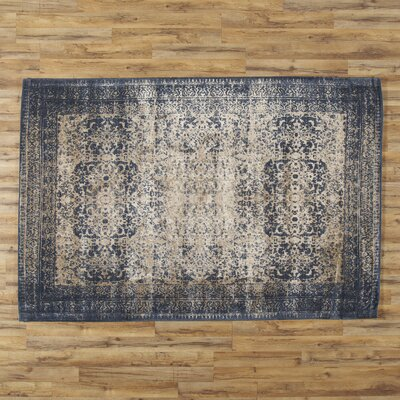 Bandhura Blue Rug Rug Size: 24 x 79