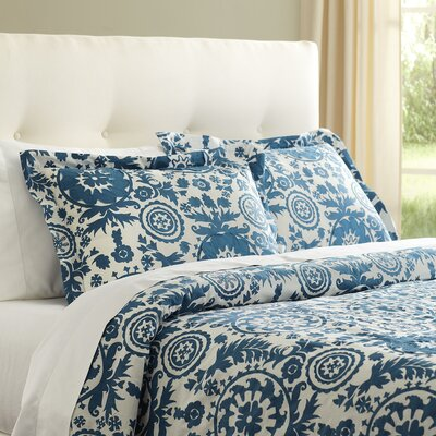 Ravina Teal Bedding Collection
