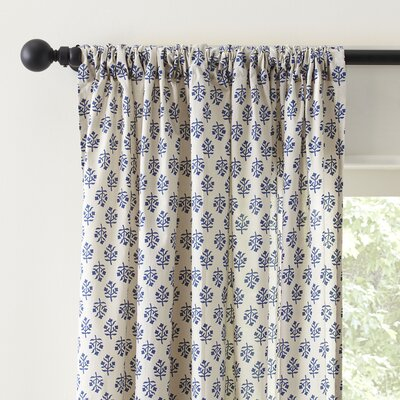 Gina Single Curtain Panel