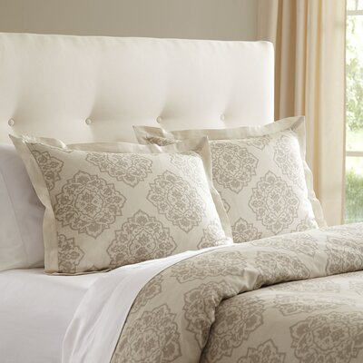 Sheila Duvet Size: King, Color: Natural