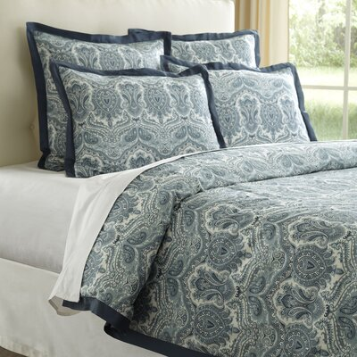 Lillian Duvet Size: Full / Queen, Color: Neutral