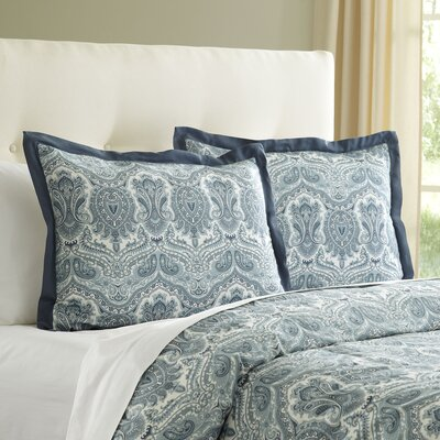 Lillian Sham Size: Standard, Color: Blue