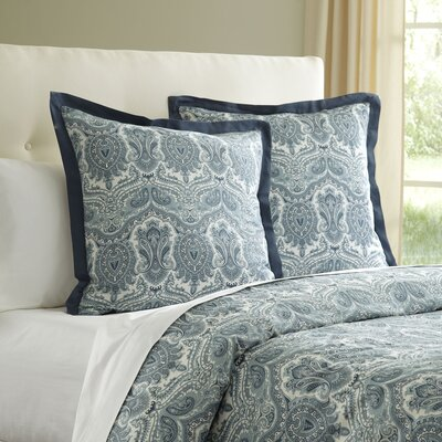 Lillian Sham Color: Blue, Size: King