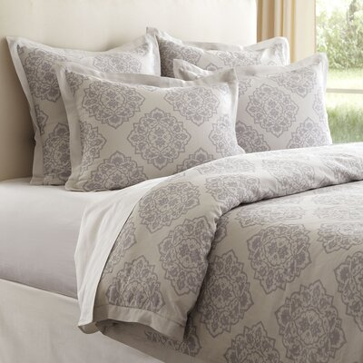 Sheila Duvet Color: Blue, Size: Full / Queen