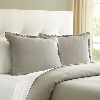 Jamie Duvet Size: King, Color: Gray