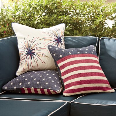 Liberty Fireworks Pillow Cover