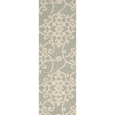 Emmeline Hand-Woven Indoor/Outdoor Area Rug Rug Size: Runner 26 x 8
