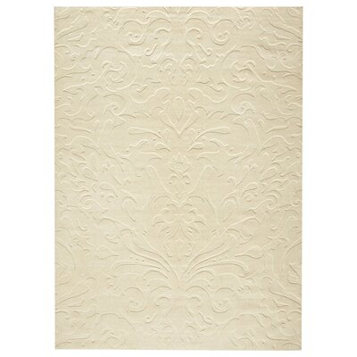 Ella Parchment Hand-Woven Area Rug Rug Size: Rectangle 2 x 3
