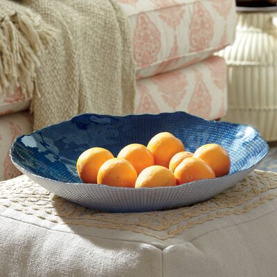 Giana Indigo Decorative Bowl