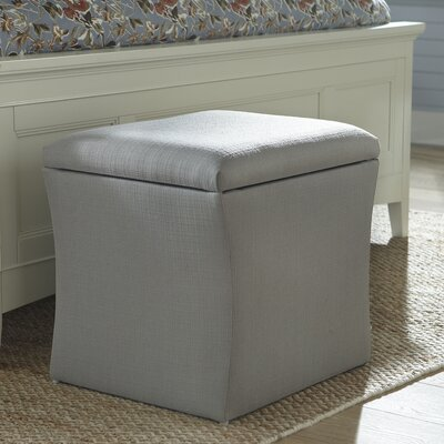 Page Storage Ottoman Upholstery: Marlow Stone
