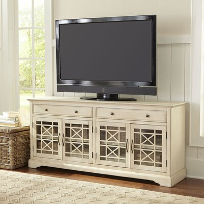Hubert 70 TV Stand Color: Antique White