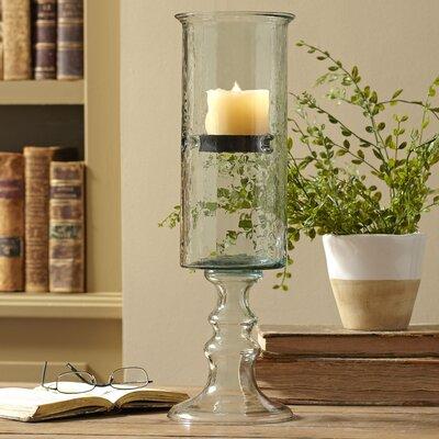 Pedestal Cylinder Candleholder Size: Large