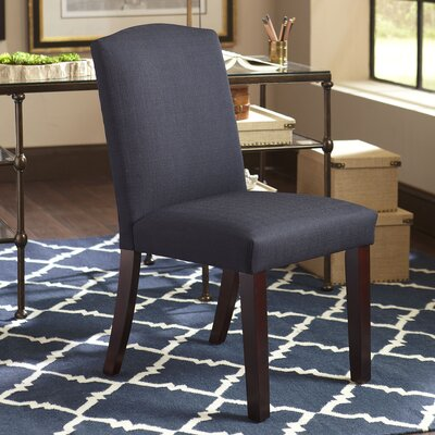 Bishop Side Chair Upholstery: Willoughby Teal