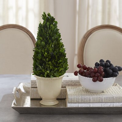 Rosecroft Preserved Boxwood Topiary