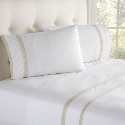 Iona Sheet Set Size: Queen, Color: Cream