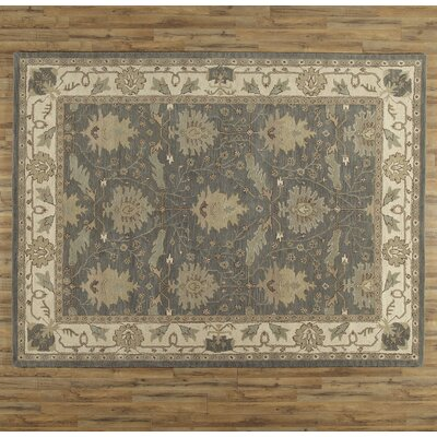 Constance Hand-Tufted Blue Area Rug Rug Size: Rectangle 9 x 12