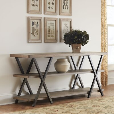 Jopling Console Table Finish: Brownstone