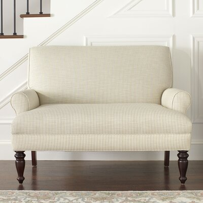 Alton Settee Upholstery: Spinnsol Natural