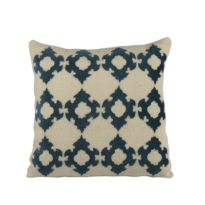 Mellie Pillow Cover Color: Navy