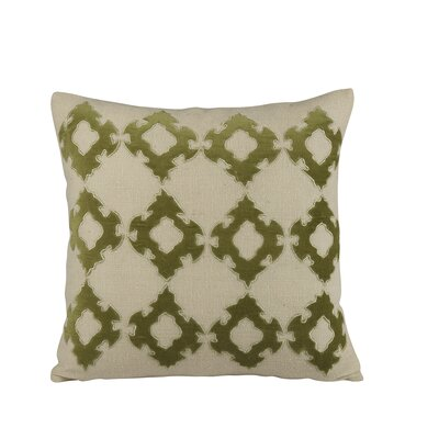 Mellie Pillow Cover Color: Green