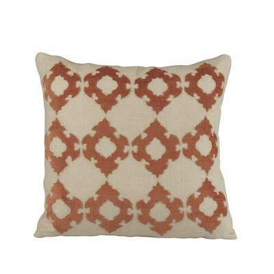 Mellie Pillow Cover Color: Orange