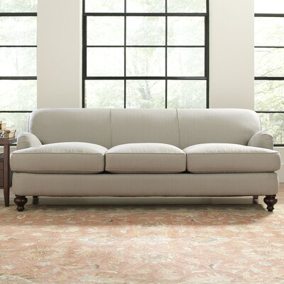 Durham Sofa Upholstery: Spinnsol Natural