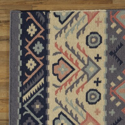 Double Mountain Hand-Woven Area Rug Rug Size: Rectangle 2' x 3'