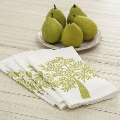 Olive Tree Napkins Color: Green