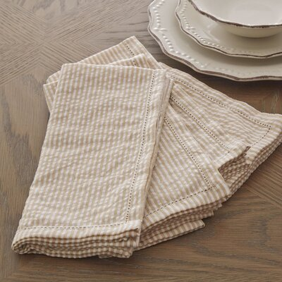 Finn Napkin Color: Taupe