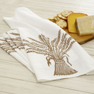 Wheat Napkins Color: Saddle