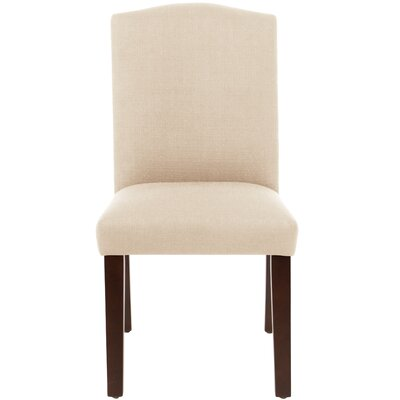 Bishop Side Chair Upholstery: Marlow Vanilla