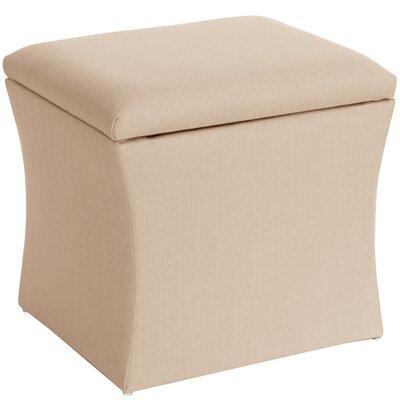 Page Storage Ottoman Upholstery: Marlow Vanilla