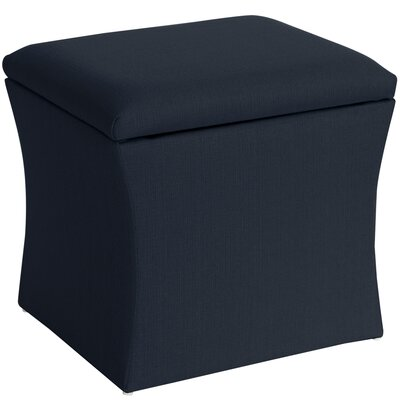 Page Storage Ottoman Upholstery: Marlow Midnight