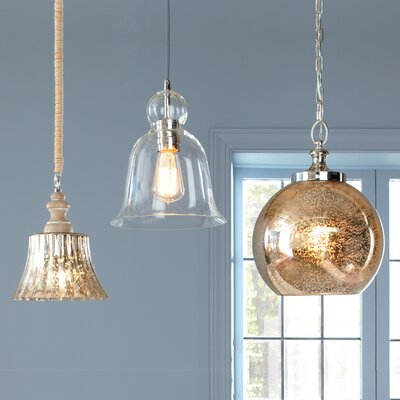 Antioch Mini Pendant Finish: Polished Nickel