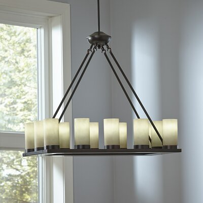 Birch Lane Warwick 12-Light Candle-Style Chandelier