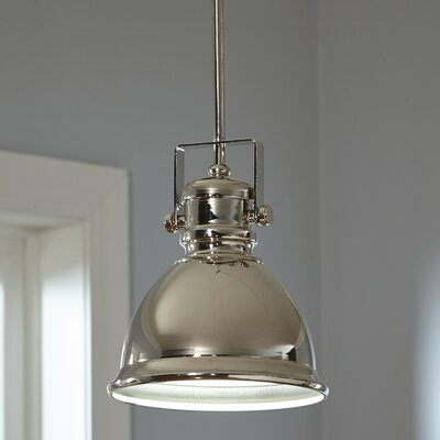 Rhodes Mini Pendant Finish: Polished Nickel